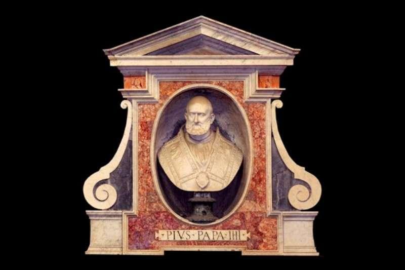 Bust of Pope Pius IV in Santa Maria degli Angeli, Rome