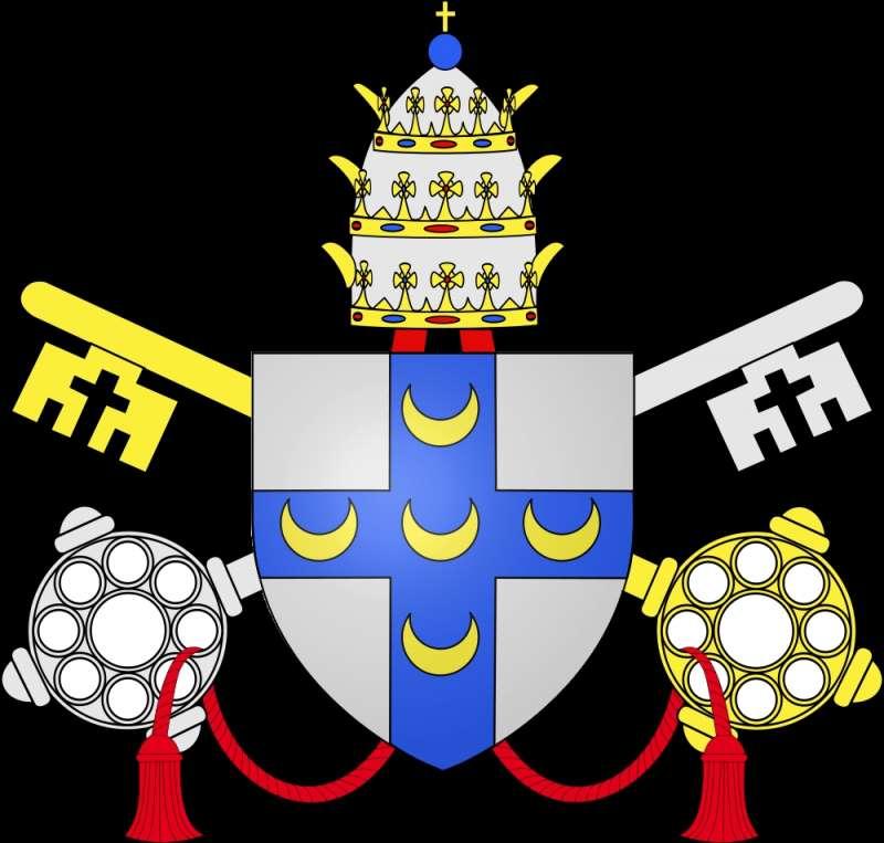 Coat of Arms of Pope Pius II