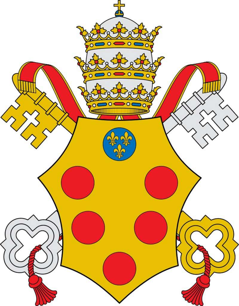 Coat of Arms of Pope Leo X