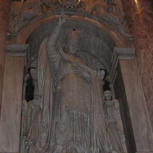 Monument of Pope Leo XII located in St. Peter's Basilica