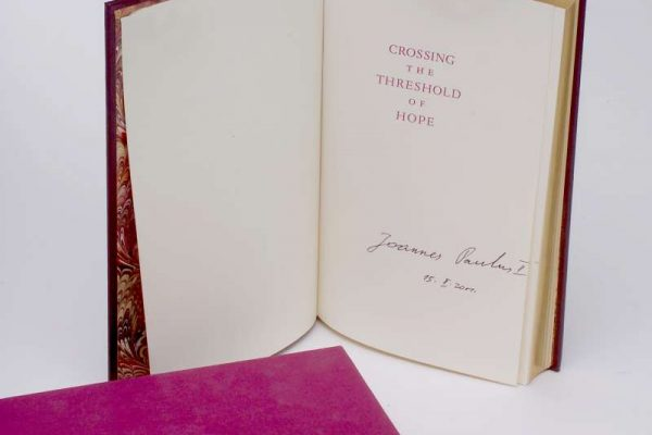 "Signed Copy of ""Crossing the Threshold of Hope"""