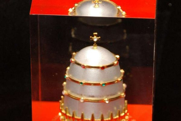 Paperweight Image of the Papal Tiara: Pope Paul VI
