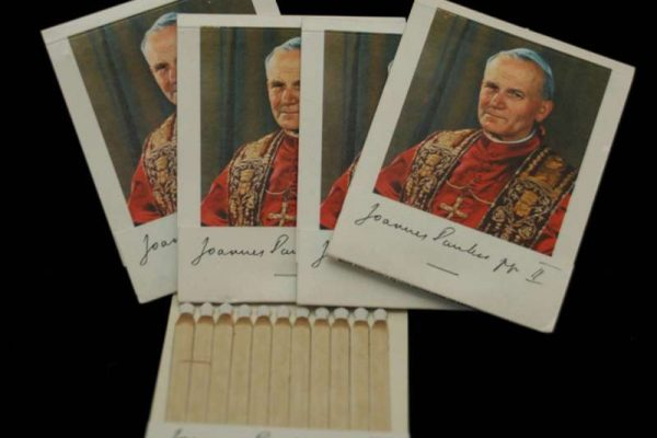 Saint John Paul II: Ten Matchbooks Commemorating 1979 US Visit