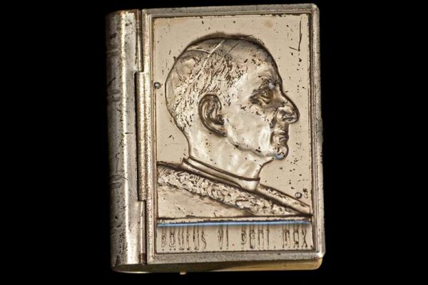 Rosary Case Made in the Form of a Book: Pope Paul VI