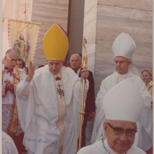 8 X 10-Color Photo of Cardinal Jozsef Mindszenty, Signed