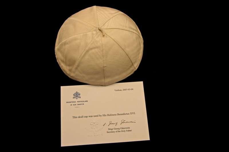 Zucchetto Belonging to Pope Benedict XVI