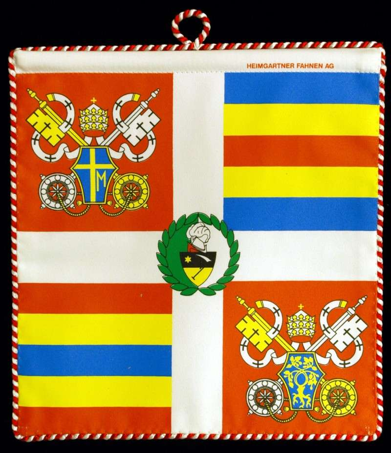 Replica of John Paul II's Flag