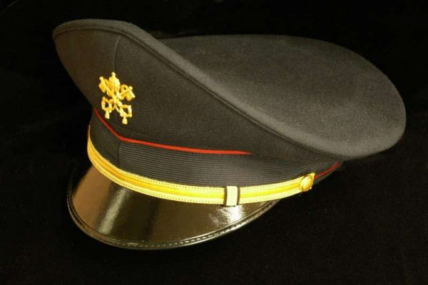 A Police Hat from the 1970s Vatican Police