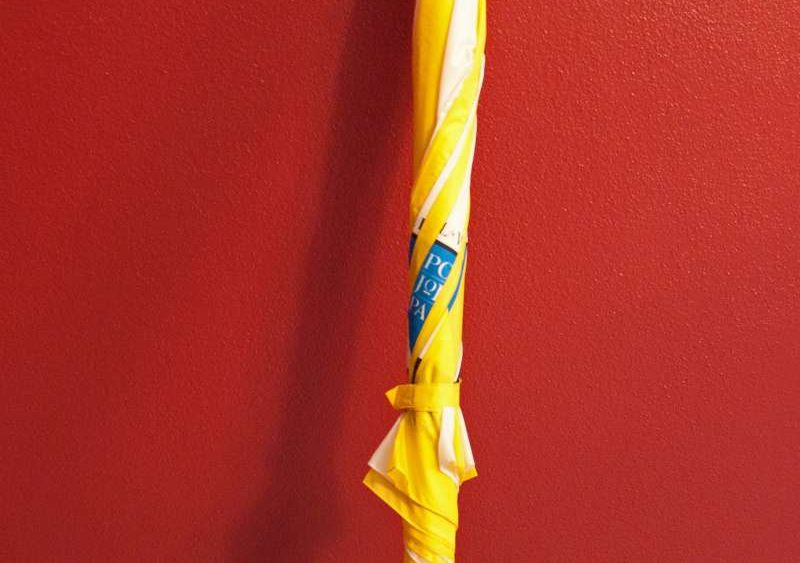 Umbrella Used During the Papal Mass in St. Louis, Missouri 1999