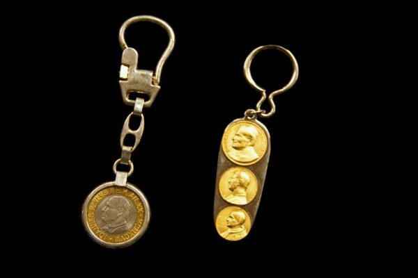Key Chains From the Pontificates  of Saint John Paul II, John Paul I & Blessed Paul VI