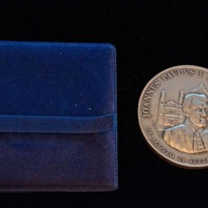 Medal Commemorating Saint John Paul II's Visit to John Paul I's Family and House on the 1st Anniversary of John Paul I's Death