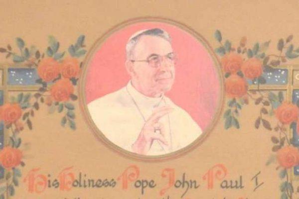 Pope John Paul I Apostolic Blessing