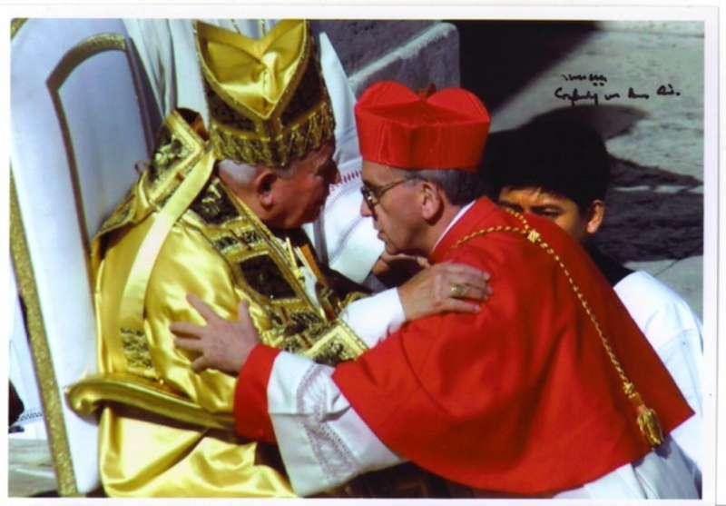 Pope John Paul II Names Jorge Borgoglio Cardinal in 2001 Consistory