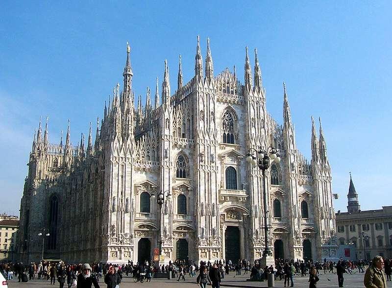 Burial Site of St. Charles Borromeo in the Milan Duomo