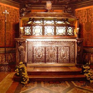 The Crypt of St. Charles Borromeo in the Milan Cathedral, the Duomo
