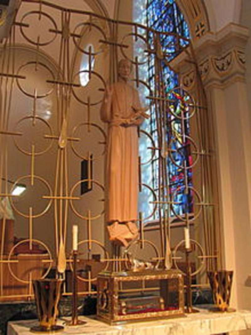 St. Gaspare Relic at St. Charles Seminary
