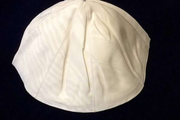Zucchetto Worn by Pope Francis