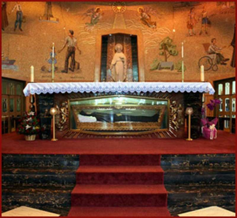 Saint Frances Cabrini Shrine in Manhattan, New York