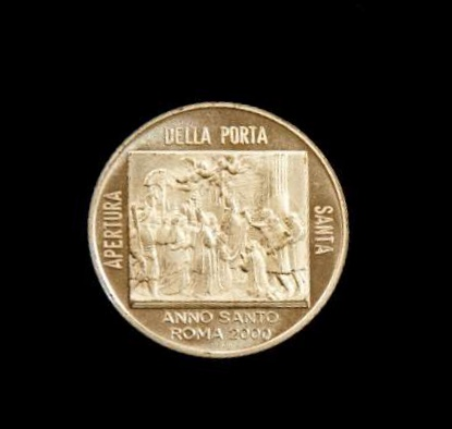 Medallion Commemorating the Holy Year, 2000: Pope John Paul II