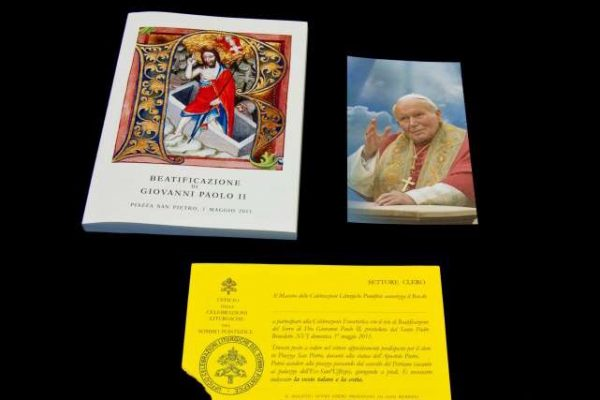 Memorabilia From the Beatification of  Saint John Paul II