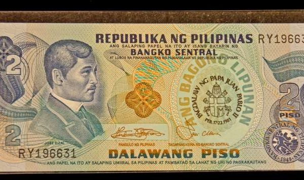 Saint John Paul II: Currency From the Philippines