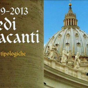 Cover of 1929-2013 Sedi Vacanti Stamps