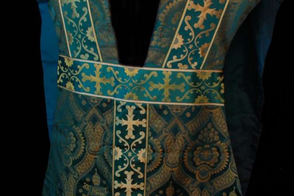 Fiddleback Chasuble: Pope John XXIII