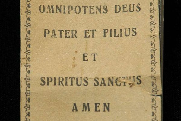 Flip Book of Pius XI Giving a Blessing