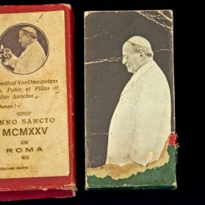 Flip book of Pope Pius XI Commemorating the Holy Year 1925