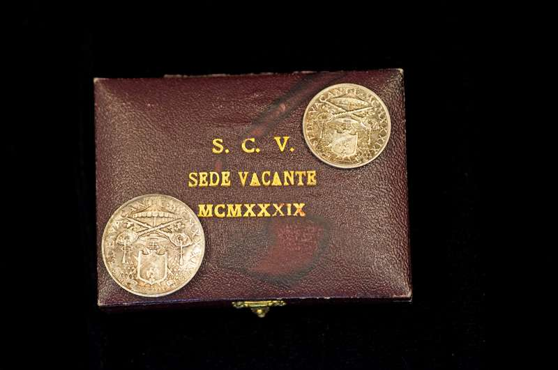 Sede Vacante Coins From the Period Between Pontificates