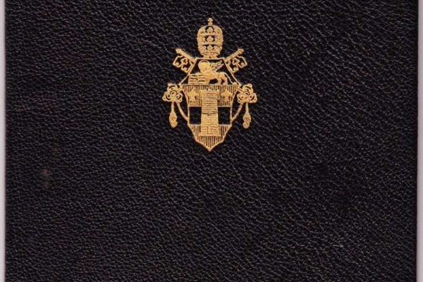 Passport Issued to Participating Bishops  in Vatican II