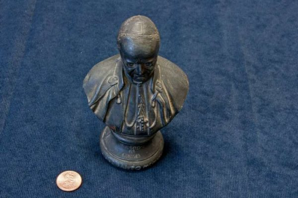 Metal Bust of Pope Pius XI