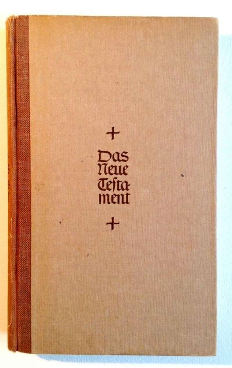 Copy of the New Testament Given to Prisoners of War