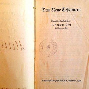Additional Stamp Inside New Testament
