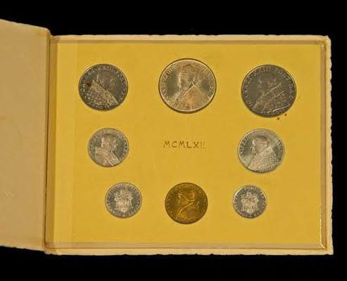 Coins Minted at the Vatican: Pope John XXIII