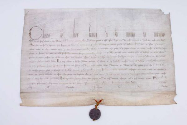 Papal Bull from Pontificate of Clement IV, Dated 1266