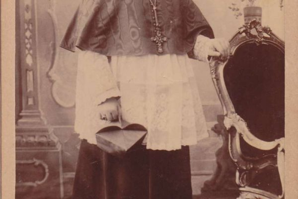 Signed Photograph of Saint Pius X as  Cardinal Giuseppe Sarto