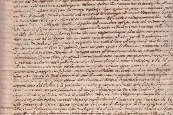 Three-Page Formal Document Signed by Pope Pius VI, Dated 1780
