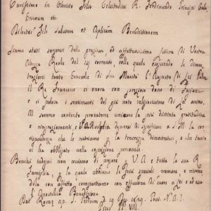 Untranslated Letter Signed as Pope