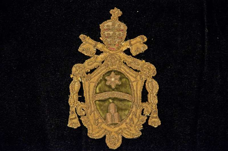 Applique of the Coat of Arms of Pope Clement XI