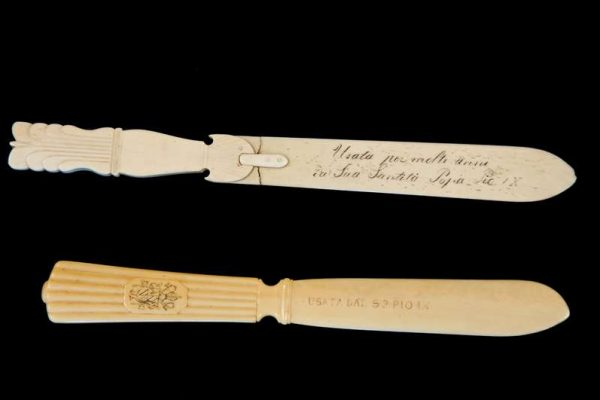 Ivory Letter Opener Used by Saint Pius X