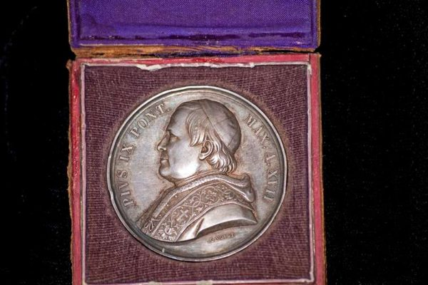 Annual Medal of the Vatican, Dated 1863, Bl. Pius IX