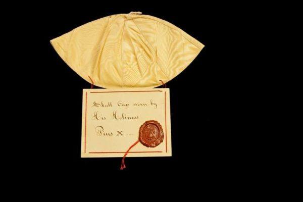 Zucchetto of St. Pius X