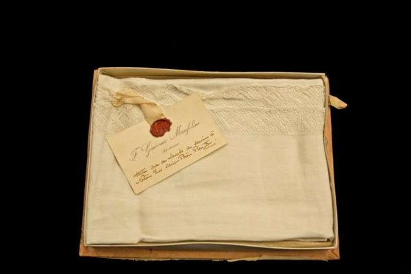 Lavabo Towel Used by Pope St. Pius X