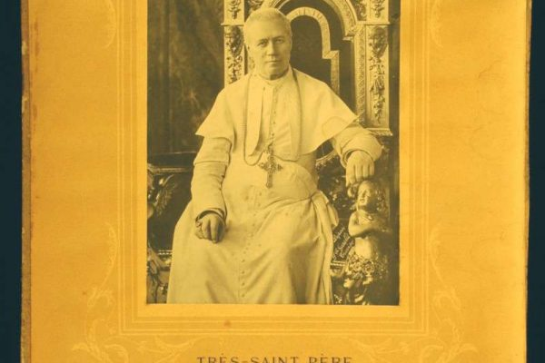 Blessing Signed  by Pope Pius X