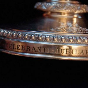 Chalice Commemorating 50th Year of Leo XIII Priesthood (Occasion)