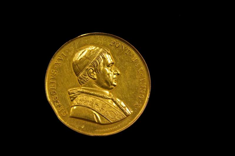 Commemorative Medal From the Pontificate of Gregory XVI