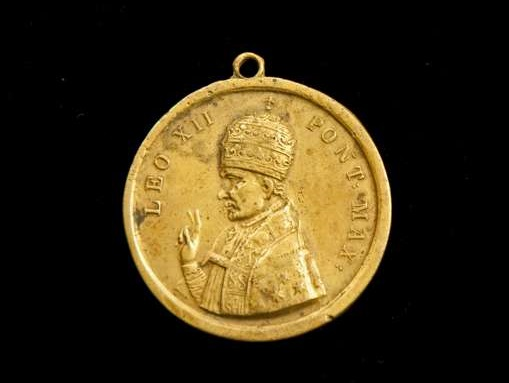 Commemorative Medal  of the Holy Year, 1825, Pope Leo XII