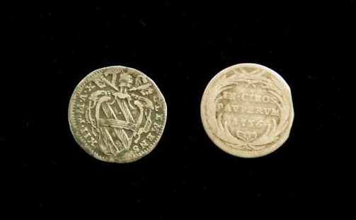 Two Coins From the Pontificate of Clement XII, Dated 1736 & 1739