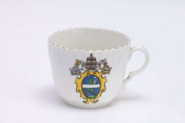 Porcelain Teacup from the Pontificate of Pope Leo XIII